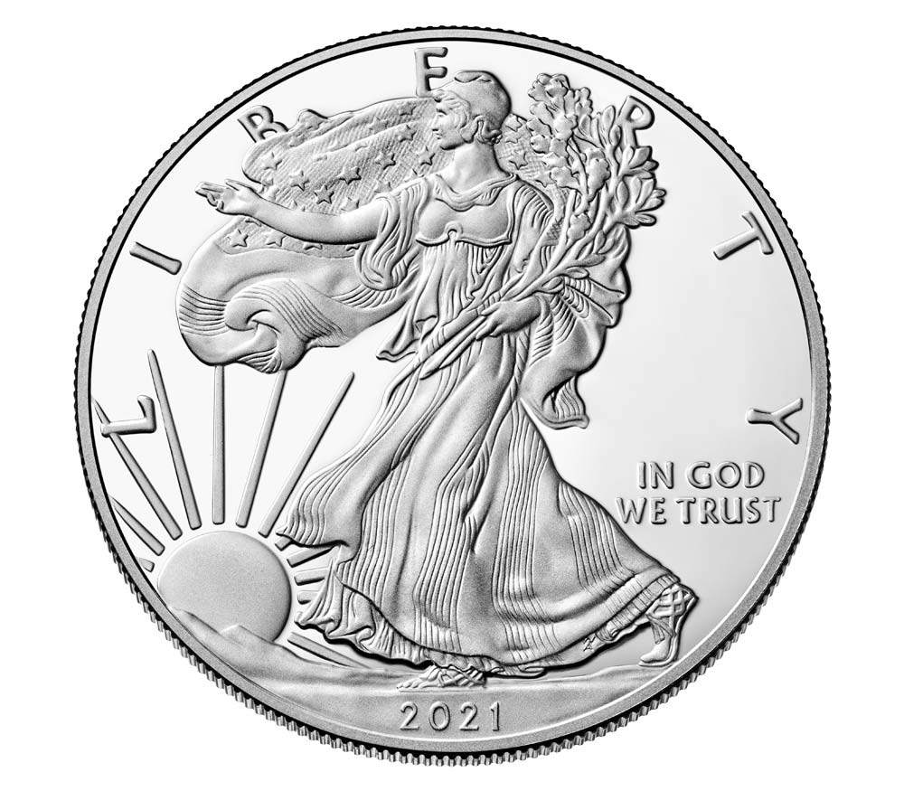 American Eagle 2021 One Ounce Silver Proof Coin